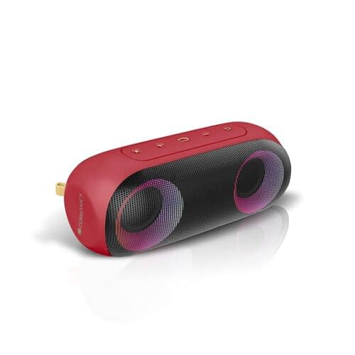 Amazon Deal – Zebronics Zeb-Music Bomb X Wireless 20W Portable Speaker, 4000 mAh Battery, RGB Lights, IPX7 Water Resistant, Wireless BT/AUX, Type C Charging, Metal Hook (Red) @ 2099RS post thumbnail image