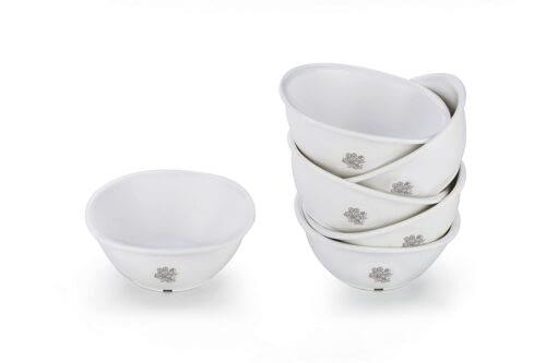 Amazon Deal – Signoraware Circle Scapes Plastic Serving Bowl Set, 220 ml, Set of 6, White @ 186RS post thumbnail image